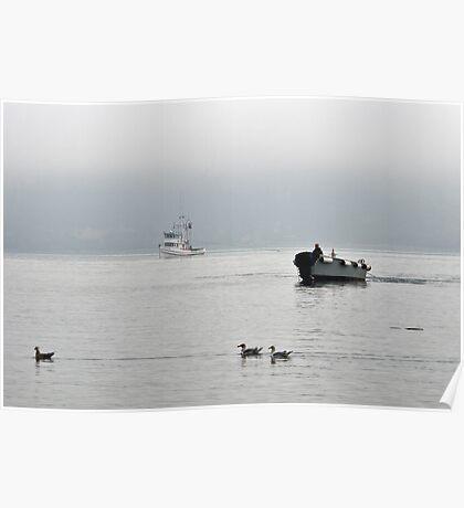 New Oregon Fishing I Poster