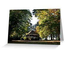 The Bandstand Greeting Card