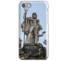 Rome - Fountain of Neptune  iPhone Case/Skin