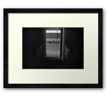 Empty Stadium Framed Print