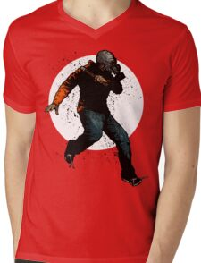 Onward Ever Downwards Mens V-Neck T-Shirt