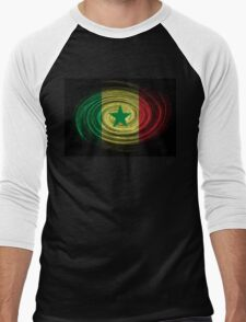 Senegal Twirl Men's Baseball ¾ T-Shirt