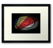 Seychelles Twirl Framed Print