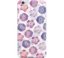 Anemone in Mauve iPhone Case/Skin