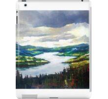 Through the clouds, nature landscape iPad Case/Skin