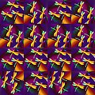 Dragonflies Colours QZ by Vitta