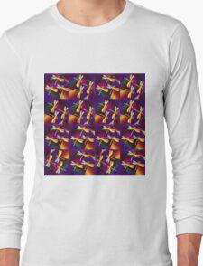 Dragonflies Colours QZ Long Sleeve T-Shirt
