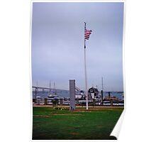 The Harbor in Jametown - Rhode Island Poster