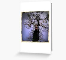 vertical branches Greeting Card