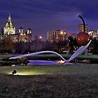 Minneapolis Sculpture Garden-Minneapolis, Mn by hastypudding