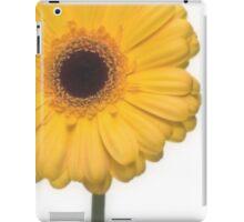 Square Yellow Gerbera Flower iPad Case/Skin