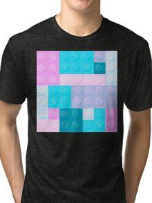 Blockz Pastel Tri-blend T-Shirt