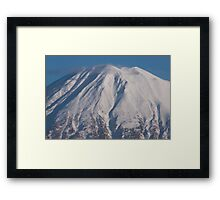 Mount Yotei - Peak Framed Print