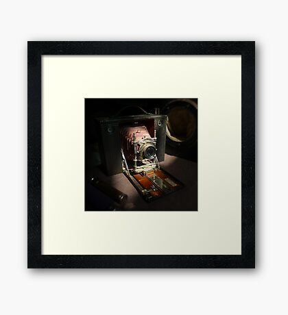 The museum Framed Print