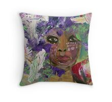 I'm Not An Animal In A Cage Throw Pillow