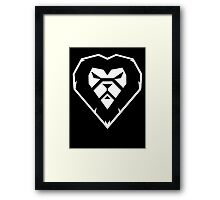 Ray Lewis Lion Framed Print