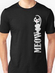MEOW (white kitty) Unisex T-Shirt