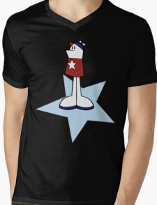 Homestar Runner Mens V-Neck T-Shirt