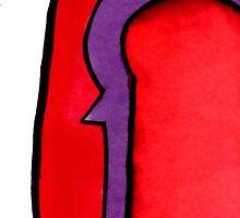 Magneto's Helmet - Marvel Comics by Aphina