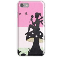 Fairy with Thistle iPhone Case/Skin