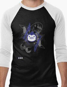 Mawaru PenguinDrum T-shirt Men's Baseball ¾ T-Shirt