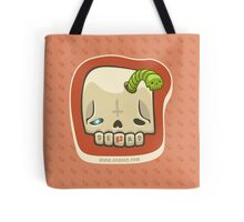 Dead Meat Skullworm Tote Bag