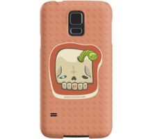 Dead Meat Skullworm Samsung Galaxy Case/Skin