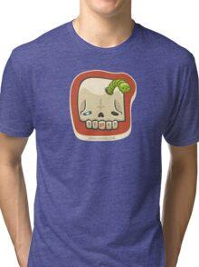 Dead Meat Skullworm Tri-blend T-Shirt