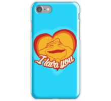 I Lava You (Heart) iPhone Case/Skin