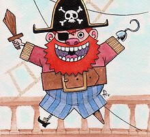 Fat pirate by Alfonso Rosso