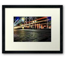 West end Dallas Framed Print