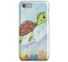 Good vibes turtle  iPhone Case/Skin