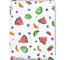 Crystal Fruit Salad - Pattern iPad Case/Skin