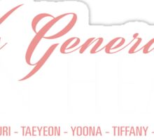 Lion Heart - SNSD Sticker