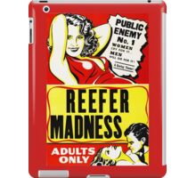Reefer Madness Vintage iPad Case/Skin
