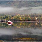 Autumn Loch by Derek Dobbie