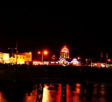 saturday night seafront by lurch