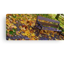 The Park Canvas Print