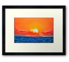 Vivid Rendition Framed Print