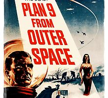 Plan Nine from Outer Space vintage by Vintage Designs
