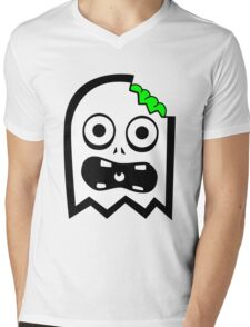 Ghost Mens V-Neck T-Shirt