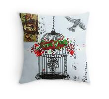 Let there be freedom Throw Pillow