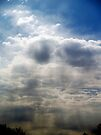 Clouds on the way to Raleigh Airport by BCallahan