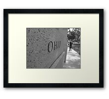 WWII the men from Ohio Framed Print