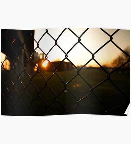 Chainlink fence Poster