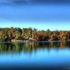Autumn Lake by Rick  Friedle