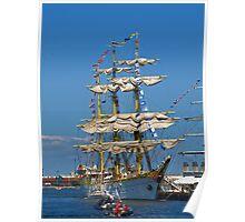 Beautiful Ship Poster