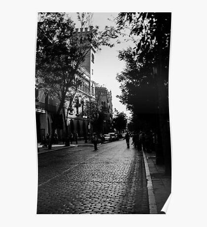 Streets of Seville, Spain  Poster