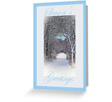 Seasons Greetings Card Greeting Card