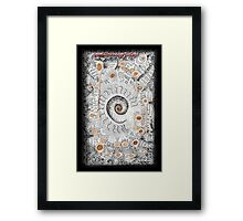 A doodle Inspired by YOU at RB Framed Print